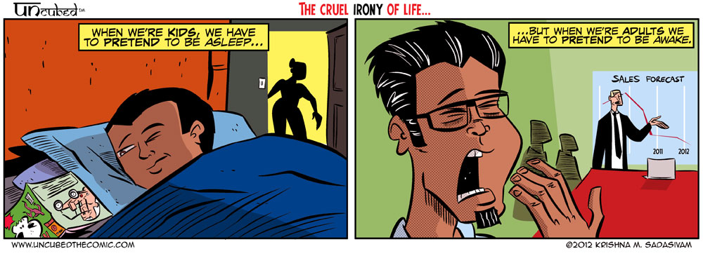 Uncubed: The Life and Times of an Indian Guy named Krishna » sleep ...